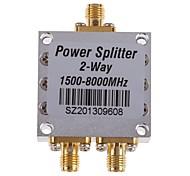 2-Way SMA Power Splitter 1500-8000MHz Signal Booster Amplifier Divider