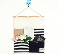 Five Pockets Behind The Door Navy Style Storage Bag