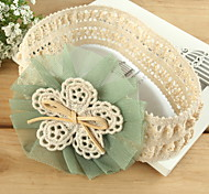 Korean Children Flower Lace Fabric Headbands