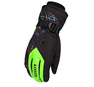 Winter Gloves Unisex Keep Warm Ski & Snowboard / Snowboarding Yellow / Green / Red / Pink / Blue Canvas Free Size-Others