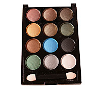 Fashion Eye Shadow Box Cold Twelve Color Fashion Makeup
