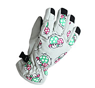 Winter Gloves Unisex Keep Warm Ski & Snowboard White / Pink / Blue / Purple Canvas Free Size-Others