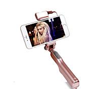 moda dobrável hy004 levou Bluetooth luz vara selfie