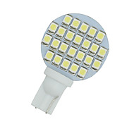 2 x blanco frío t10 cuña rv paisajismo 24-SMD llevó la luz de las lámparas W5W 921 168 194