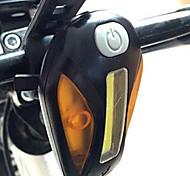 Luci bici Luci bici Trasporto facile 100 Lumens Batteria / USB Altro Nero Ciclismo-Altro