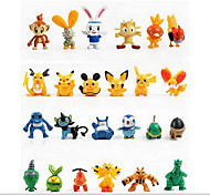 Pokemon 24 furnishing articles doll pokemon anime cartoon toys