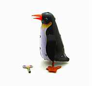 The Penguin Wind-up Toy Leisure Hobby Metal Black For Kids