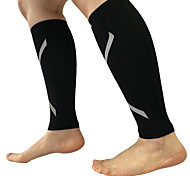 Men Black Nylon Running Knee Brace
