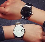 Couple's/Women's/Men's Fashion Watch Colorful Digital PU Leather Quartz Stylish Wrist Watch Cool Watch