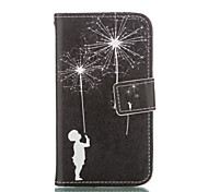 Boy Leather Wallet for Samsung Galaxy Core Prime Grand Prime