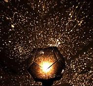2pcs поделки романтично галактики звездное небо проектор ночь свет + созвездие ручной