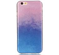 Glitter Gradient Material TPU Phone Case for iPhone 5 / 5S / 5C / 5E / 6 / 6S / 6Plus / 6S Plus