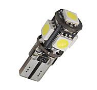 10 x errore canbus T10 bianco libero 5-SMD 5050 ha condotto la luce interiore lampadine W5W 194 168