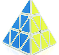 Shengshou® Smooth Speed Cube 3*3*3 / Alien Professional Level Stress Relievers / Magic Cube / Puzzle Toy Black / White Plastic