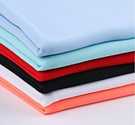 Fabric Sky Blue / Fuchsia Chiffon