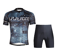 Breathable Paladin Summer Male Short Sleeve Cycling Jerseys Suit 100% Polyester DT679 Science And Technology