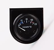 """2 """"52мм 12v универсальный указатель автомобиля температура воды температура манометрическое 40-120 белый привело"""