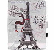 Body collant Support de Carte / résister / Motif Other Cuir PU Doux Couverture de cas pour Apple iPad Air 2