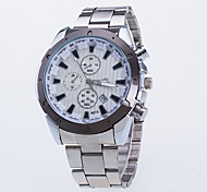 Men's Dress Watch Quartz / Alloy Band Casual Silver