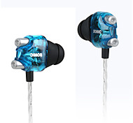 2016 NEW Somic V4 Stereo Earphone Double Moving-coil HiFi Headphone Unique Lightweight Noise Cancelling Stereo Music