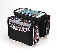 B-SOUL® Sacoche 2.5LLSac de cadre de véloRésistant aux Chocs / Vestimentaire / Multifonctionnel / Ecran tactile / Porte iphone /