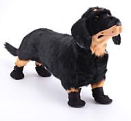 Stivaletti in velcro per cani, XS-Xl -Nero