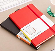 A5 Elastic Portable Hard Surface Business Notepad