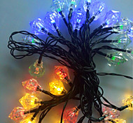 NO 5 M 20 LED Dip Colori primari Impermeabile W Fili luminosi <5V V