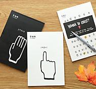 Pure Kraft Paper Stationery Korea Pupils Draft Notebook