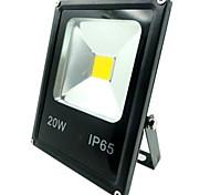 20W luce di inondazione 1500LM outdoorlight IP65 impermeabile caldo / freddo proiettore di colore bianco per la casa (AC85-265V)