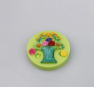 Пищевой сорт силиконовый плесень reposteria фондант торт украшение инструмент форма для помадки торт цвет случайный