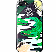Crocodile Pattern High Quality  TPU Material Soft Phone Case For iPhone 7 7 Plus 6S 6Plus