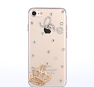 Per Custodia iPhone 7 / Custodia iPhone 7 Plus / Custodia iPhone 6 Con diamantini Custodia Custodia posteriore Custodia Con cuori