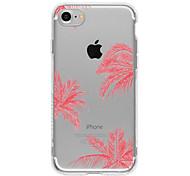 Для Кейс для iPhone 7 / Кейс для iPhone 7 Plus / Кейс для iPhone 6 С узором Кейс для Задняя крышка Кейс для Пейзаж Мягкий TPU AppleiPhone
