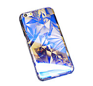 Colorful Diamonds Lattice Blu-ray Reflective Glitter Semitransparent Soft iphone Case for iphone 6s Plus/iphone 6s/6/5