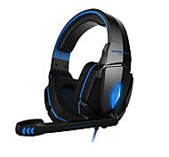 Gaming headphone G4000 Stereo Noise Cancelling Gaming Headset Mic HiFi Driver LED Light for PC