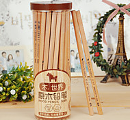 2B Log Pencil