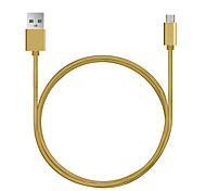 Micro USB Data Cable 7 mm Lengthened Head 2A Through Android Phones