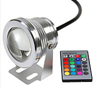 RGB 10W Underwater Lamp Waterproof IP68 Safety Voltage 12V Underwater Colorful Lights