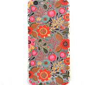 Flower HD Pattern Embossed Acrylic Material TPU Phone Case For iPhone 7 7 Plus 6s 6 Plus