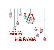 Window Sticker Window Decals Style Christmas Gifts Matte PVC Window Sticker - (60 x 58)cm