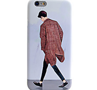 Running Man Pattern IMD Technology Phone Case TPU Material For iPhone 6s 6 Plus