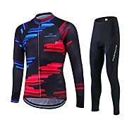 Spring Autumn Long Sleeve Cycling Jersey Sets Breathable Gel Padded Bicycle wear Sportswear Bike Cycling Clothings