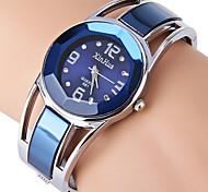 Женские Нарядные часы Модные часы Часы-браслет Имитационная Четырехугольник Часы Стразы Имитация Алмазный Кварцевый Нержавеющая сталь