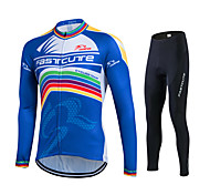 Spring Autumn Long Sleeve Cycling Jersey Sets Breathable Gel Padded Bicycle Sportswear Sweat Cycling Clothings