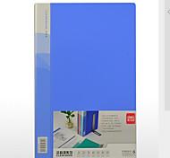 Lavoro Cartelle & Cover Rapporto,Plastica 1 Scatola