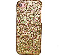 Glitter Shining Sequin Back Cover iphone Case for iPhone 7 Plus iPhone 6 Plus iPhone 5