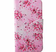 Butterflies Pattern PU Material New High-End Card Holder Phone Case For Samsung Galaxy J3 (2016) J5 J5 (2016)