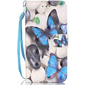 Tuta A portafoglio / A fantasia Farfalla Similpelle Difficile Copertura di caso per AppleiPhone 7 Plus / iPhone 7 / iPhone 6s Plus/6 Plus