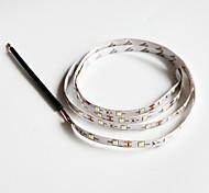 z®zdm 100 centimetri 2W 60x3528smd luce bianca lampada principale della striscia per auto (12V DC)